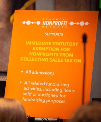 nonprofit flyer